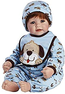"Adora Toddler WOOF! 20"" Boy Weighted Doll Gift Set for Children 6+ Huggable Vinyl.."