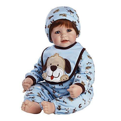 Adora ToddlerTime Woof! Boy Doll with Puppy Print Onesie, bib and Cap