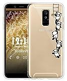 Sunrive Für Samsung Galaxy A6+ (2018) Hülle Silikon,