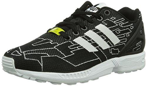 adidas Originals ZX Flux Weave, Sneaker Unisex - Adulto, Nero (Schwarz (Black 1/Running White FTW/Onix)), 36 2/3 (4 UK)
