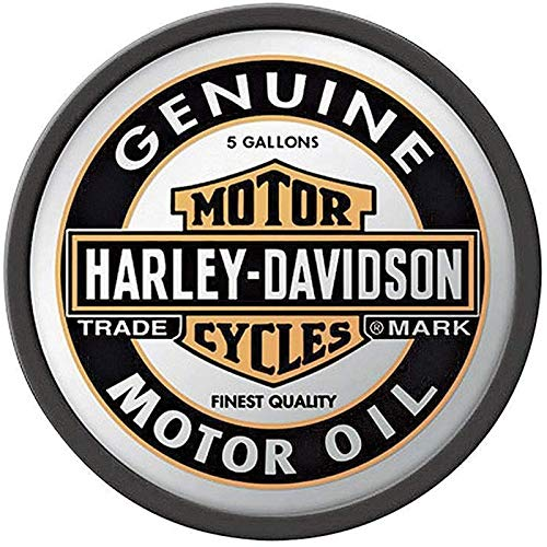 Adesivi riflettenti per casco Harley Davidson Genuine bianco