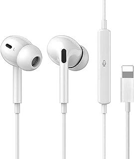 In-Ear Auriculares para iPhone XR, Auriculares con micrófono y Control de Volumen Compatible con iPhone 7/7 Plus/8/8 Plus/...