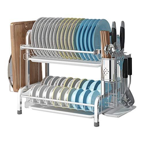 WHQ 2-Schicht KücheCountertop Storage Rack for Geschirr, Besteck, Besteck -...