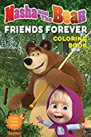 Masha And The Bear - Friends Forever: Giant Coloring Book For Kids