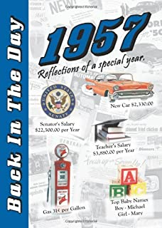 1957 Back In The Day Almanac -- 24-page Booklet / Greeting Card