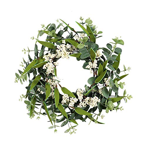 Janly Clearance Sale Ginkgo Eucalyptu Leaves Home Living Room Window Simulation GreeLeaf Wreath , Home Decor forHome & Garden , Easter St Patrick's Day Deal (Multicolor)