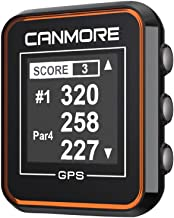 $79 » CANMORE H-300 Handheld Golf GPS - Essential Golf Course Data and Score Sheet - Minimalist & User Friendly - 38,000+ Free C...
