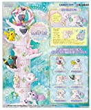 Reement Pokémon Forest 6, Shinnpi Shining Location, Full Complete, Set of 6, Candy Toy, Gum (Pocket Monster)