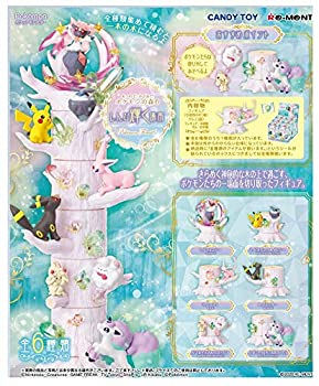 Reement Pokémon Forest 6 Shinnpi Shining Location Full Complete Set of 6 Candy Toy Gum  Pocket Monster