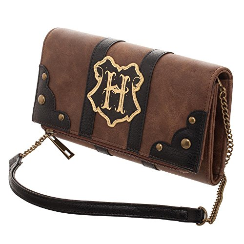 Harry Potter Hogwarts Trunk Inspired Foldover Clutch Bag