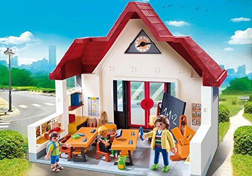 Playmobil - Jeu de construction - Ecole avec Salle de classe - 6865 - City Life