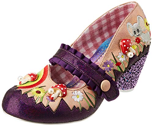 Irregular Choice Damen Pipsqueak Pumpe, champagnerfarben, 43 EU