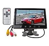 MONITOR LCD 10' PER TELECAMERA RETROMARCIA AUTO AV1 AV2 VIDEO DISPLAY LED TOUCH