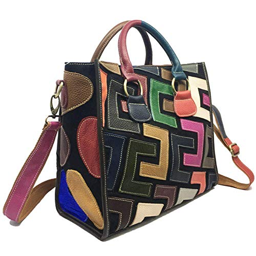 Eysee Borsa a tracolla in pelle Moda Borsa a tracolla Borsa da donna Borsa a tracolla multicolore