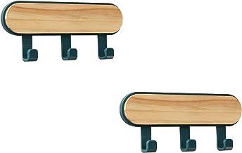Vanlux Haken 4 verpakkingen, 3 dennenhaken, deurhaken, multifunctionele haken kunnen worden gebruikt in keuken, slaapkame...