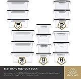 Zoom IMG-1 set di contenitori plastica alimentari