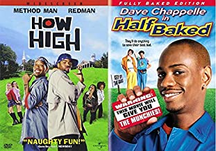 HALF...HIGH... How High & Half Baked (Fully Baked Edition) 2-DVD Double Feature Bundle