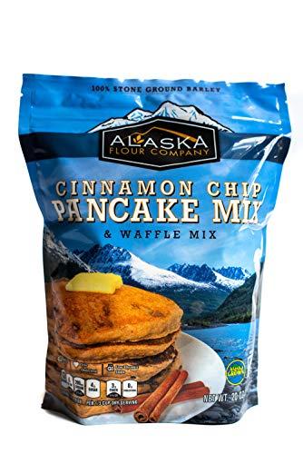 ALASKA FLOUR COMPANY Cinnamon Chip Pancake Mix, 566 GR