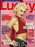 GWEN STEFANI magazine cover - Lucky [May 2004]