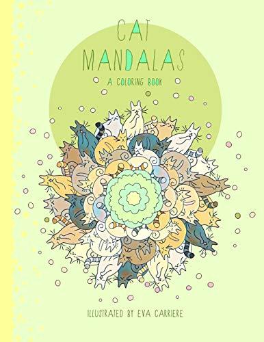 Cat Mandalas: A Coloring Book