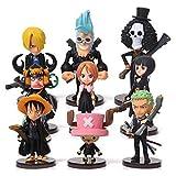 EASTVAPS 9 Piezas de One Piece de Luffy Chopper Figura Modelo de...