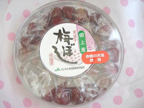 天日干し 赤穂の天然塩 使用 手作りの伝統梅干し 240グラム×4
