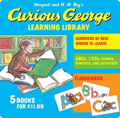 Curious George Learning Library [With Flash Cards][CURIOUS GEORGE LEARNING LIB][Paperback]