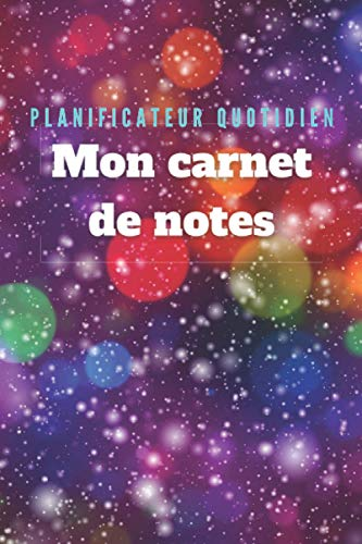 Carnet de note :planificateur quotidien Couverture Tendance 2021: Format 15,54 cm x 23,46 Mon carnet de notes Edition New champion Nouveau design Bubble Novembre 2020