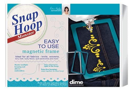 """Snap Hoop Monster Magnetic Embroidery Hoop 5"""" x 7"""" Hoop for Baby Lock/Brother"""