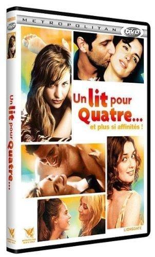 Un lit pour quatre... [Francia] [DVD]