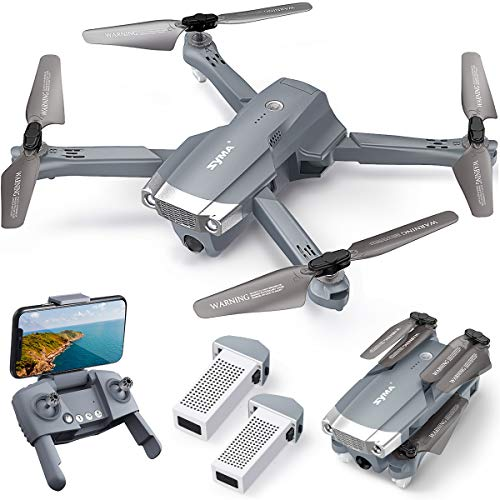 10. SYMA X500 4K Drone with UHD Camera and 2 Batteries