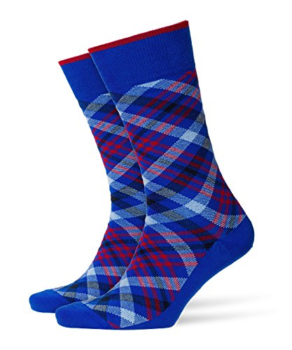 BURLINGTON Herren Socken Cadogan - 83% Baumwolle , 1 Paar, Blau (Cobalt 6712), Größe: 40-46