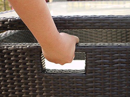 Keter/chalet et jardin Ensemble de jardin Nevada 1 table + 4 fauteuils