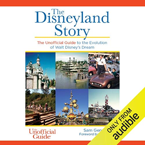 The Disneyland Story audiobook cover art