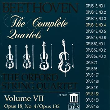 Beethoven, L.: String Quartets (Complete), Vol. 7 - Nos. 4 and 15