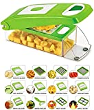 Ketsaal Multipurpose Vegetable and Fruit Chopper 14 in 1 Cutter Grater Slicer