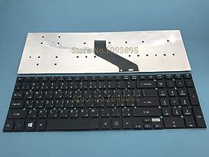 Lysee Replacement Keyboards - Arabic Keyboard For Acer Aspire V3-531 V3-531G V3-551 V3-551G V3-571 Laptop Arabic Keyboard Black