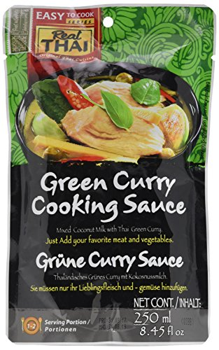 Real Thai Grüne Curry Sauce (1 x 250 ml)
