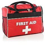 Rouge Grande Sports Sac de premiers secours -Vide