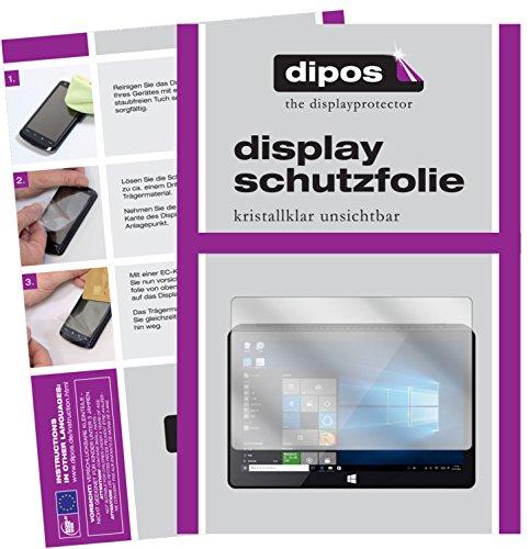 dipos I 2X Schutzfolie klar kompatibel mit Pipo X9S Mini Folie Displayschutzfolie