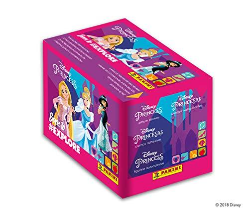 Panini Princesses-sois una heroína,–Caja de 50Sobres, 2417–004