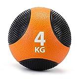 ZELUS Medizinball Slamball 2kg bis 8kg robuste strukturierte Oberfläche Trainingsball Fitnessball...
