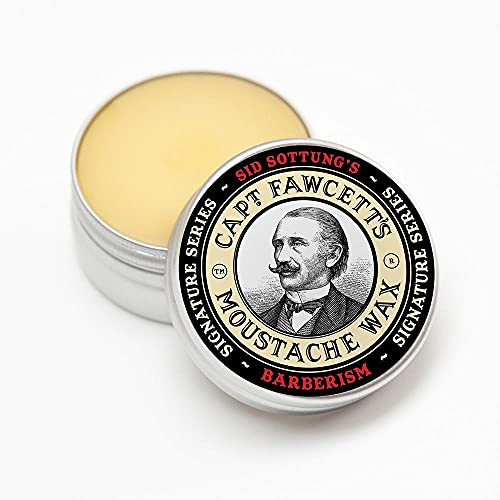 Capt. Fawcett's – Barberism – Cire à moustache...