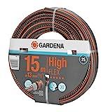 Gardena 18061-20 HIGHFLEX Comf tubería desnuda 10 x 10 13 mm 15 m, Gris, Naranja