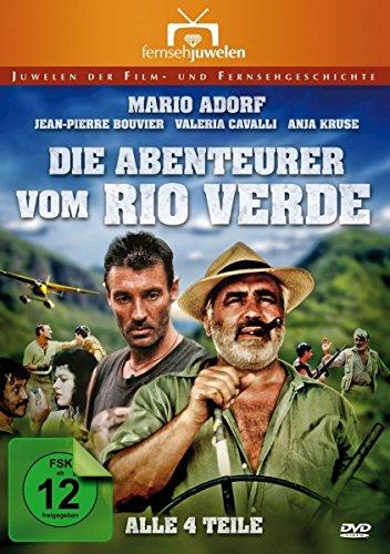 Die Abenteurer vom Rio Verde - Der komplette Vierteiler (Fernsehjuwelen) [2 DVDs]