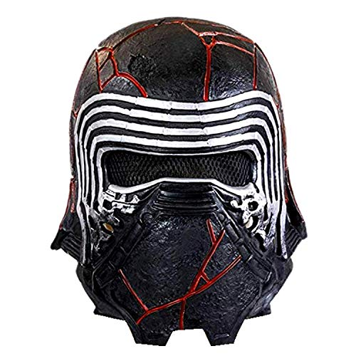 Star Wars Donna The Rise of The Skywalker Kylo Ren Mask Maglietta Nero Large