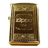 ZIPPO ジッポー オイル ライター USA限定モデル 彫刻デザイン 63920 [並行輸入品]