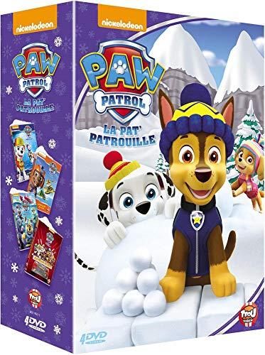Paw Patrol, La Pat' Patrouille-Coffret 4 DVD