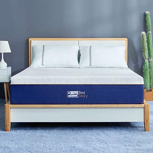 BedStory Colchón de espuma fría de 16 cm, 135 x 190 cm