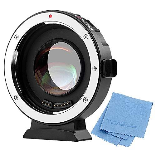 Viltrox EF-M2 - Adaptador de montura de objetivo para Canon EOS EF (0,71 x a...